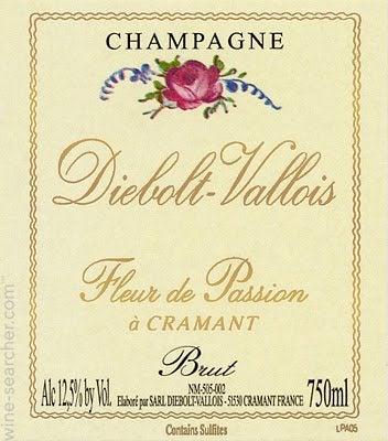 2005 Diebolt-Vallois 'Fleur de Passion' Blanc ...   prices ...