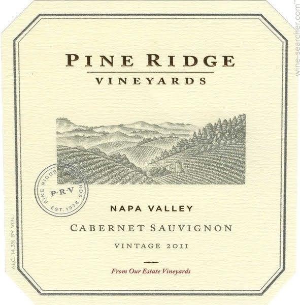 2014 Pine Ridge Vineyards Napa Valley Cabernet ...