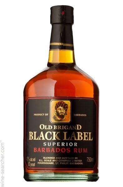 Black Label Price >> Old Brigand Black Label 10 Year Old Superior Rum Barbados