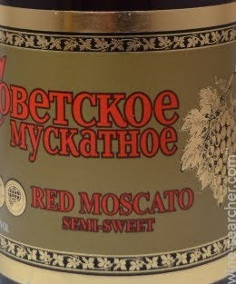 is red moscato sweet