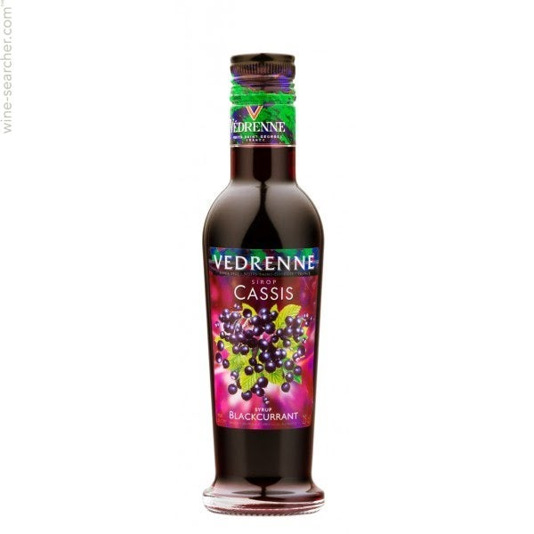 Vedrenne Sirop De Cassis Prices Stores Tasting Notes And