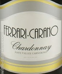 Ferrari Carano Reserve Chardonnay Carneros Prices Stores Tasting Notes And Market Data