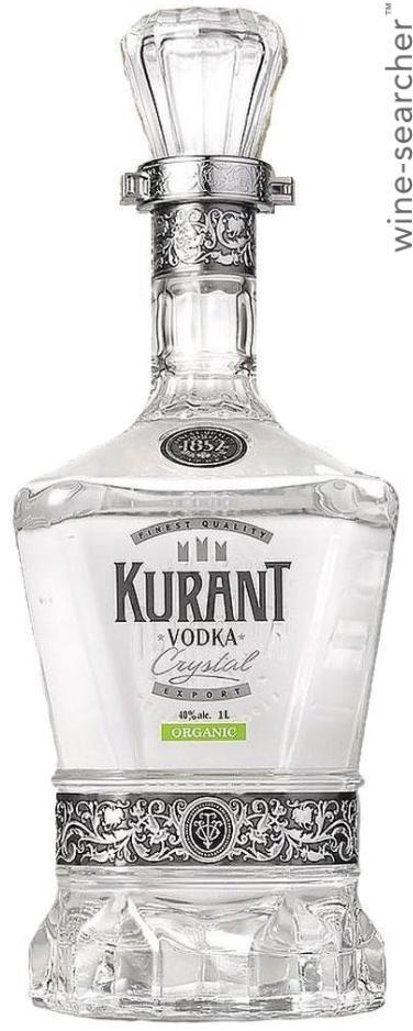 NV 1852 Kurant Crystal Organic Vodka | prices, stores, tasting ...
