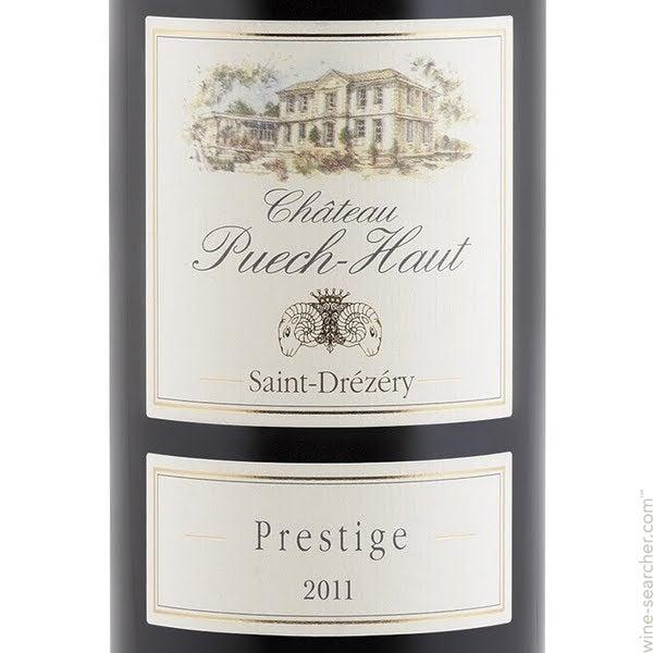 2015 Chateau Puech-Haut Saint-Drezery Prestige