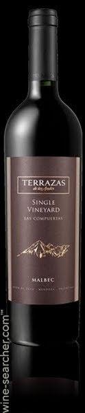 2006 Terrazas De Los Andes Afincado Single Vineyard Las Compuertas Malbec Las Compuertas Argentina