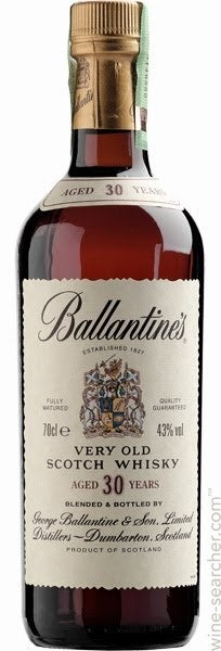 Ballantine S 30 Year Old Blended Scotch Whisky Prices Stores Tasting Notes And Market Data