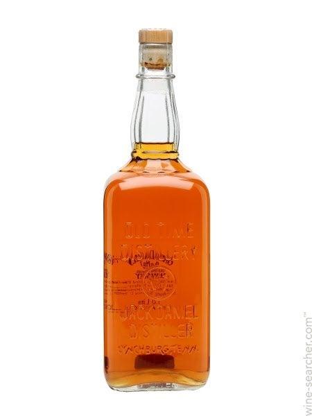 Jack Daniels Frank Sinatra Century MAGNET replica whiskey bottle