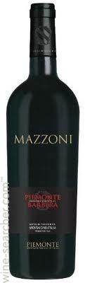 Mazzoni Barbera Piemonte, Piedmont, Italy