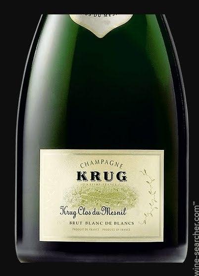 1980 Krug Clos du Mesnil Blanc de Blancs Brut, Champagne, France