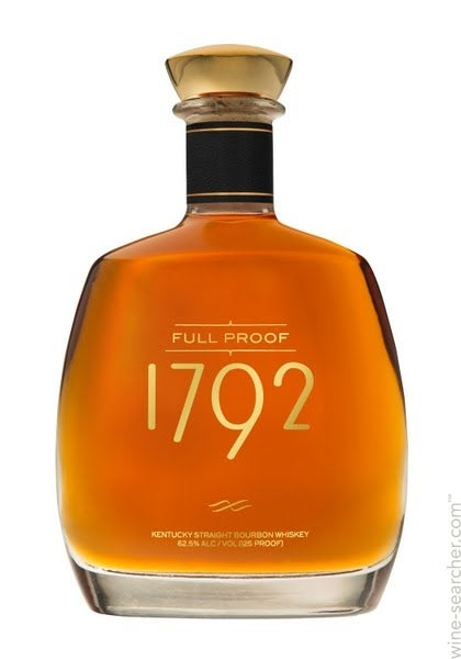 1792 Full Proof Kentucky Straight Bourbon Whiskey Prices Stores Tasting Notes And Market Data