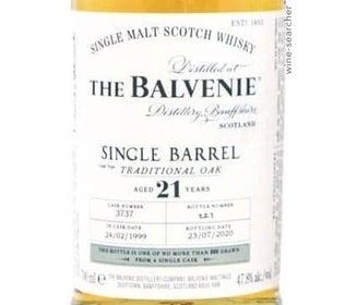 balvenie 21 single barrel review
