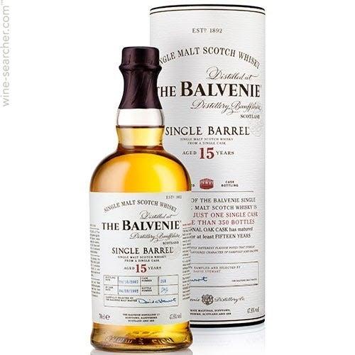 Balvenie Single Barrel 12 Years First Fill Single Malt Scotch Whisky 0,7l