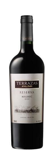 2010 Terrazas De Los Andes Reserva Malbec Mendoza Argentina