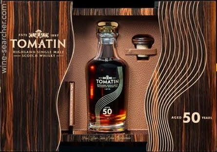 50 Year Old Whiskey >> Tomatin 50 Year Old Single Malt Scotch Whisky Highlands Scotland