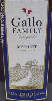 Gallo Family Vineyards Merlot California Prices Stores Tasting Notes And Market Data