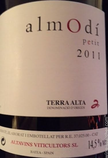 2011 Altavins Almodi Petit Terra Alta Prices Stores Tasting Notes And Market Data