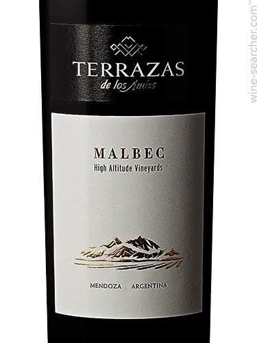 Terrazas De Los Andes Reserva Malbec Mendoza Argentina