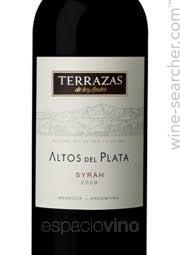 Terrazas De Los Andes Altos Del Plata Tasting Notes