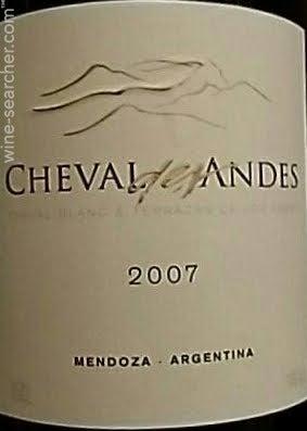 2007 Terrazas De Los Andes Cheval Tasting Notes