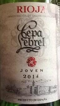 2014 Cepa Lebrel Joven Rioja Doca Prices Stores Tasting Notes And Market Data
