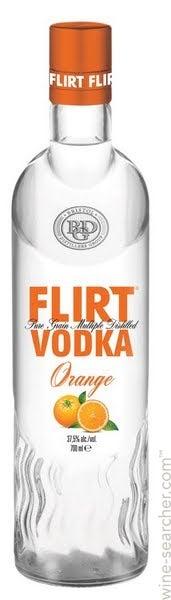 Flirt Orange Vodka   prices, stores, tasting notes