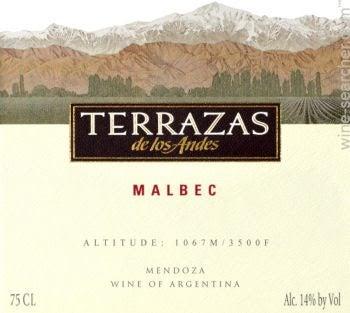 2013 Terrazas De Los Andes Reserva Malbec Mendoza Argentina
