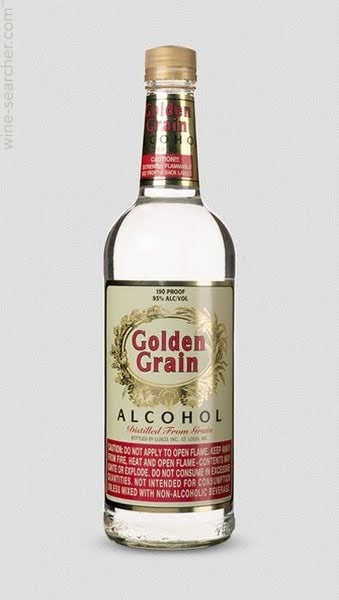 Image result for Golden Grain, 190 Proof, 95% Alcohol