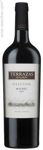 2009 Terrazas De Los Andes Reserva Malbec Mendoza Argentina