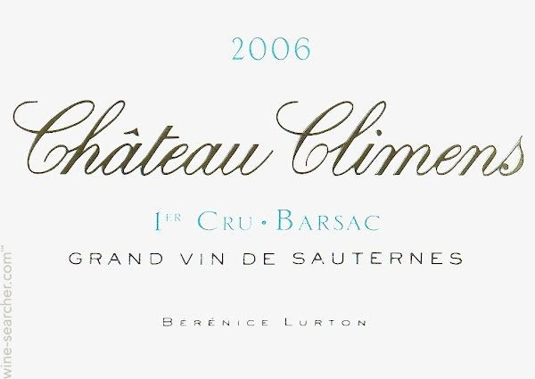 Chateau Climens, Sauternes - Barsac | prices, stores, tasting notes and  market data