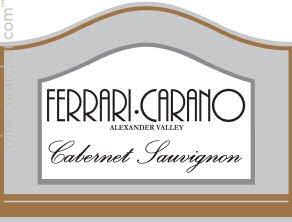 Ferrari Carano Cabernet Sauvignon Alexander Valley Prices Stores Tasting Notes And Market Data