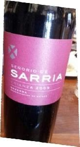2016 Senorio De Sarria Crianza Navarra Prices Stores Tasting Notes And Market Data