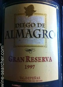 Felix Solis Diego De Almagro Gran Reserva Val Prices Stores Tasting Notes And Market Data