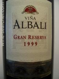 1999 Felix Solis Vina Albali Gran Reserva Valdepenas Prices Stores Tasting Notes And Market Data