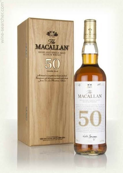 50 Year Old Whiskey >> Nv The Macallan 50 Year Old Single Malt Scotch Whisky Speyside Highlands Scotland