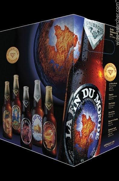 eau benite beer bottle unibroue