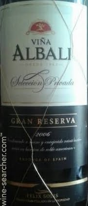 Felix Solis Vina Albali Gran Reserva Seleccion Prices Stores Tasting Notes And Market Data