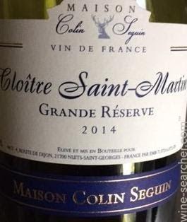 Maison Colin Seguin Cloitre Saint-Martin Grand   prices