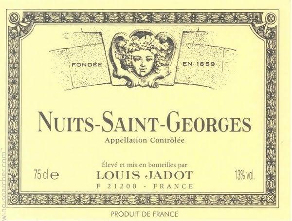 Louis Jadot Nuits Saint Georges Cote De Nuits Prices Stores Tasting Notes And Market Data