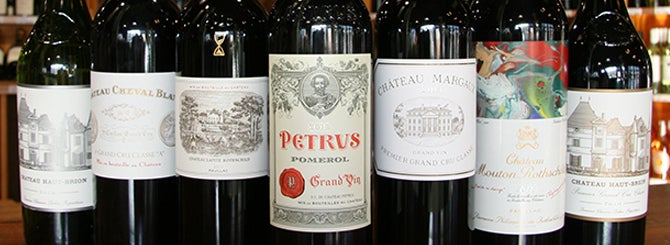 The World's Most Wanted Wines