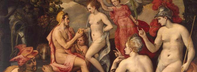 The Judgment of Paris, by Frans Floris (1519-1570)