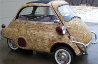 Cork collector Duane Saunders' lovingly restored BMW Isetta