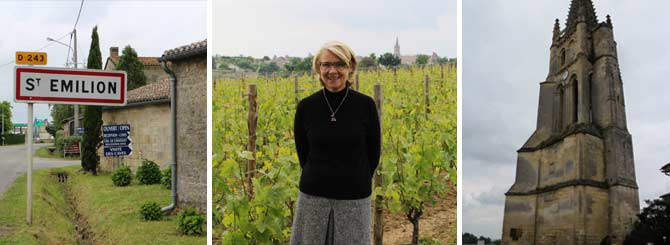 Chantal Perse and her husband began buying estates in St.-Émilion in 1993