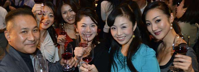 Japan sparked Far East Asia's love affair with Burgundy
