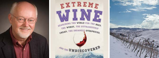 Mike Veseth; his new book; an extreme vineyard in Germany
