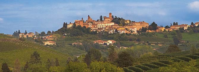 Bruno Giacosa's home village of Neive, in Piedmont