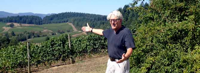 Jacques Lardière is enjoying the challenge of growing wine in pastures new
