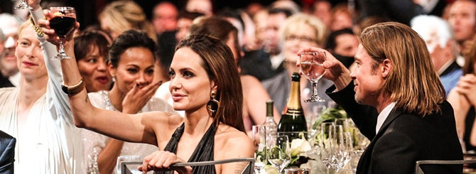The presence of Angelina Jolie and Brad Pitt at Miraval was irresistible to many consumers.