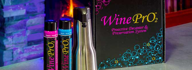 The simple device aerates wines, softening tannins and making younger wines more approachable.