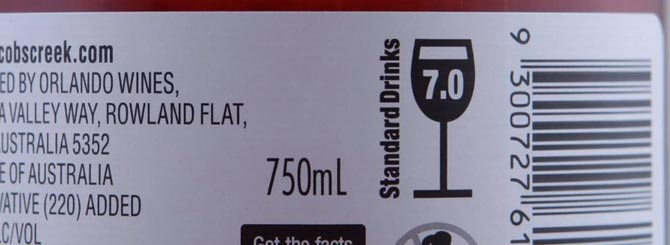 Alcohol units and barcodes may no longer be the only things we see on the back of wine labels.